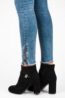 Stylové boty na podpatku