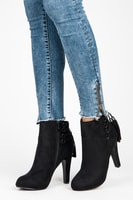 Vysoké boty s třásněmi