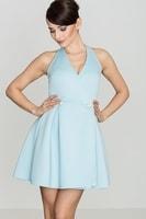 Dámské šaty světle modré
