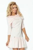 Dámské růžové elegantní šaty