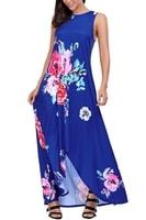 Modré dámské šaty na ramínka