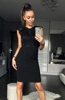 Dámské elegantní šaty černé