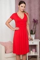 Dámské elegantní šaty červené