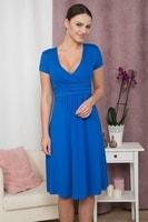 Dámské elegantní šaty modré