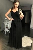Antické dlouhé šaty černé