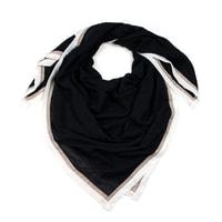 Elegantní šátek černý