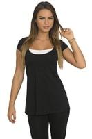 Trendy dámské tričko černé