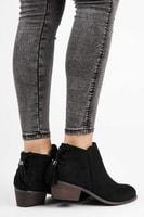 Kotníkové boty s třásněmi