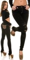 Dámské trendy džíny