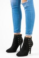 Sexy kotníkové boty na jehlovém podpatku