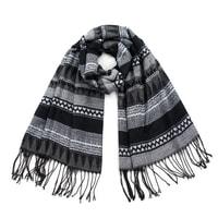 Zimní šál šedý