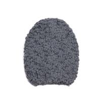 Huňatá zimní čepice šedá