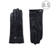 Černé kožené rukavice