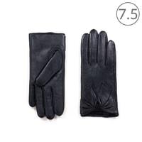 Kožené rukavice tmavé