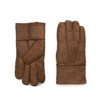 Kožené rukavice pro muže béžové