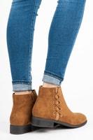 Nízké kotníkové boty