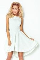 Krásné světlé dámské šaty se širokou sukní - Lacosta