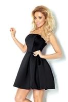 Černé korzetové šaty