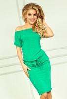 Neonově zelené sportovní šaty