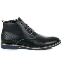 Zateplené pánské boty modré