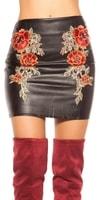 Dámská sukně s výšivkou