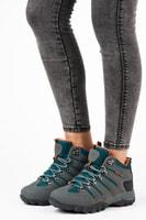 Treková obuv šedá