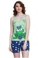 Bavlněné pyžamo Žabka krátké