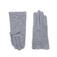 Dámské elegatní rukavice světle šedé