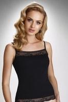 Dámská spodní košilka Charlotte černá