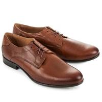 Pánská business obuv hnědá