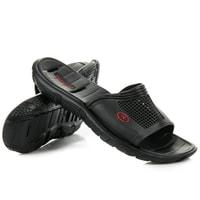 Pánské pantofle do bazénu černé