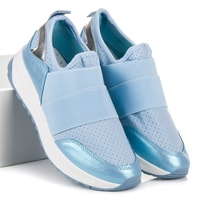Nazouvací sportovní boty modré