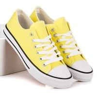 Klasické tenisky žluté