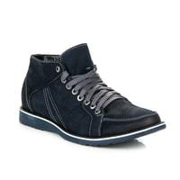 Pánské zateplené boty modré