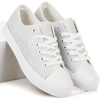 Dámské stylové tenisky bíé