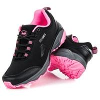 Sportovní softshell boty černorůžové