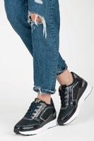 Sportovní boty na klínu modré