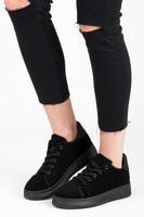 Boty na platformě černé