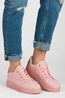 Boty na platformě růžové