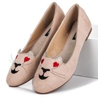 Baleríny lordsy kitty béžové