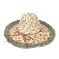 d70877ff229 Farmářský klobouk se zeleným okrajem