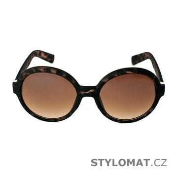Sluneční brýle tmavě hnědé