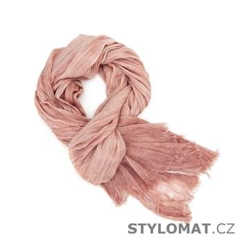 Růžový velký šál - Art of Polo - Dámské zimní šály e87435058f